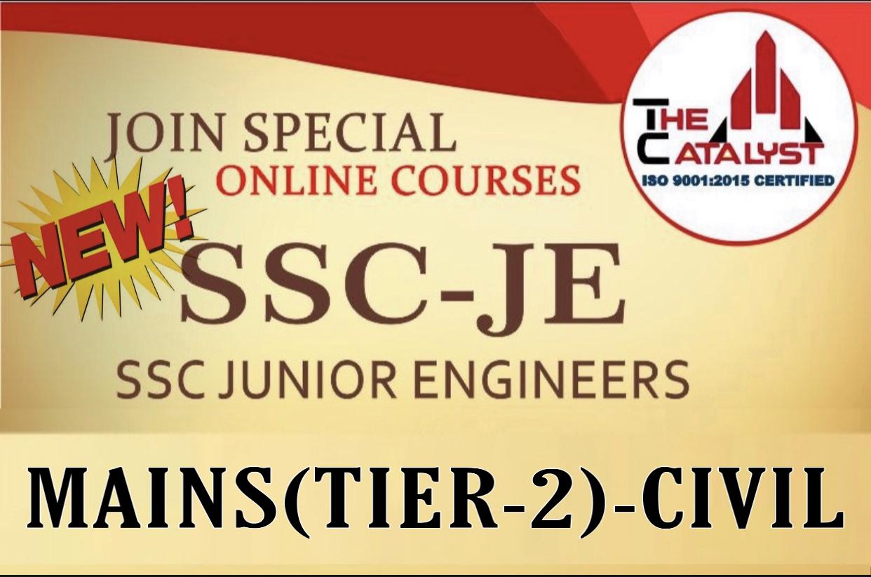 SSC JE MAINS(CE)