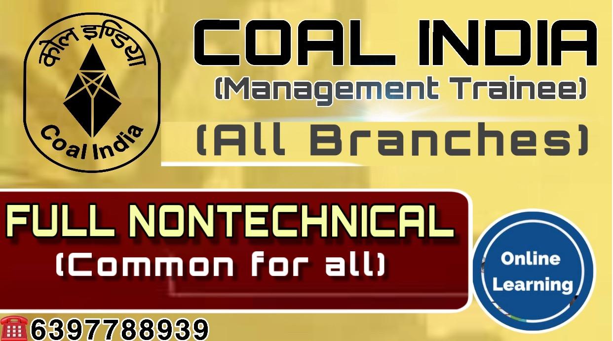 Full Nontechnical(100 Marks)-CIL