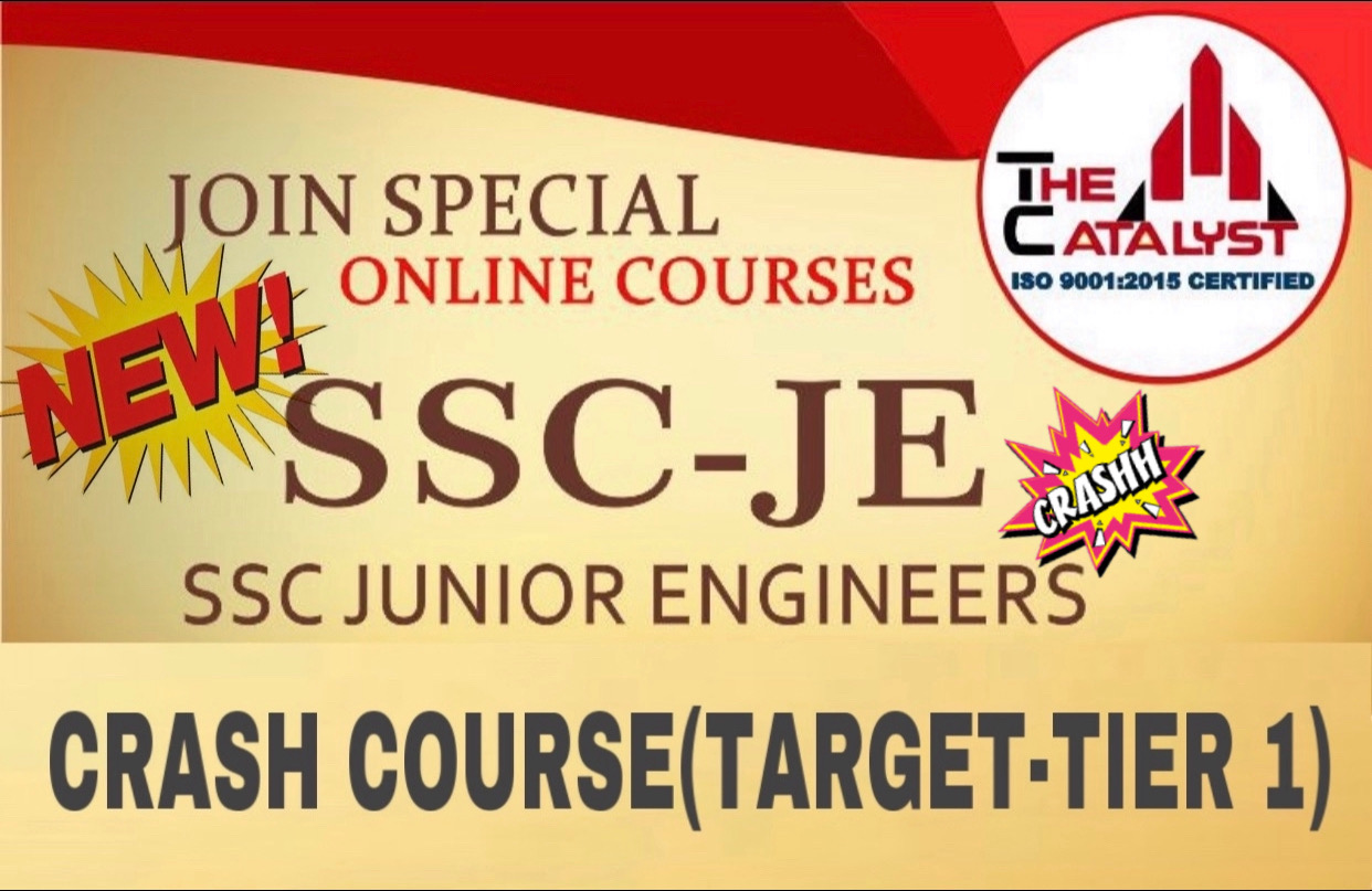 SSC JE(Tier-1) CE Crash Course