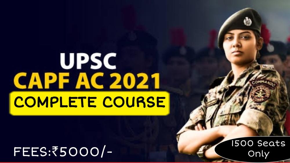 CAPF-2021 Full Course