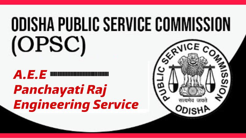 Odisha Panchayati Raj(AEE)